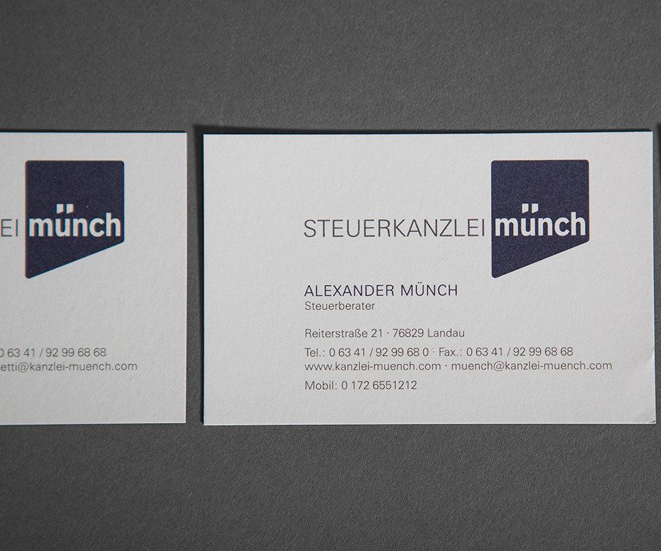 Sabath Media Werbeagentur - Steuerkanzlei Münch – Broschüre - Referenzbild 2