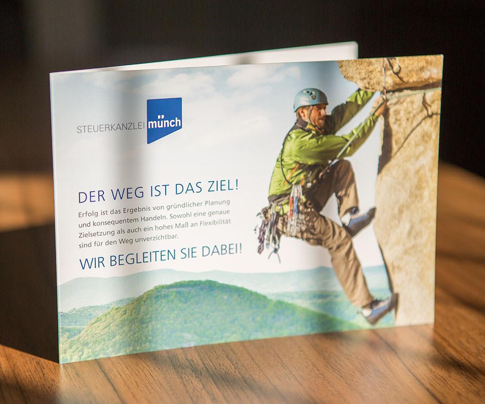 Sabath Media Werbeagentur - Steuerkanzlei Münch – Broschüre - Referenzbild 3