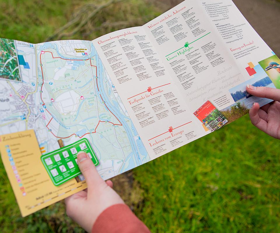 Sabath Media Werbeagentur - Südpfalz Tourismus – Flyer - Referenzbild 2