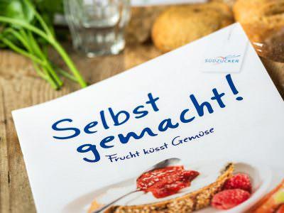 """Sabath Media - Projekt Vorschaubild - Südzucker – Broschüre """"Selbst gemacht"""""""