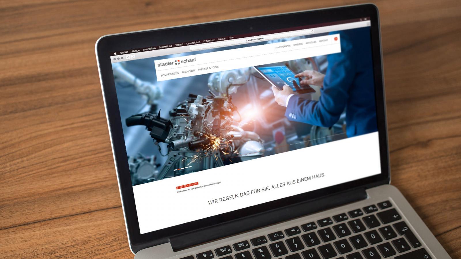 Sabath Media Werbeagentur - Stadler + Schaaf – Website Relaunch - Referenzbild 1