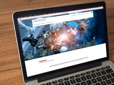 Sabath Media - Projekt Vorschaubild - Stadler + Schaaf – Website Relaunch