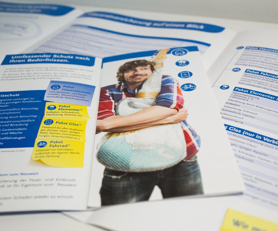 Sabath Media Werbeagentur - BB Bank – Flyer - Referenzbild 3