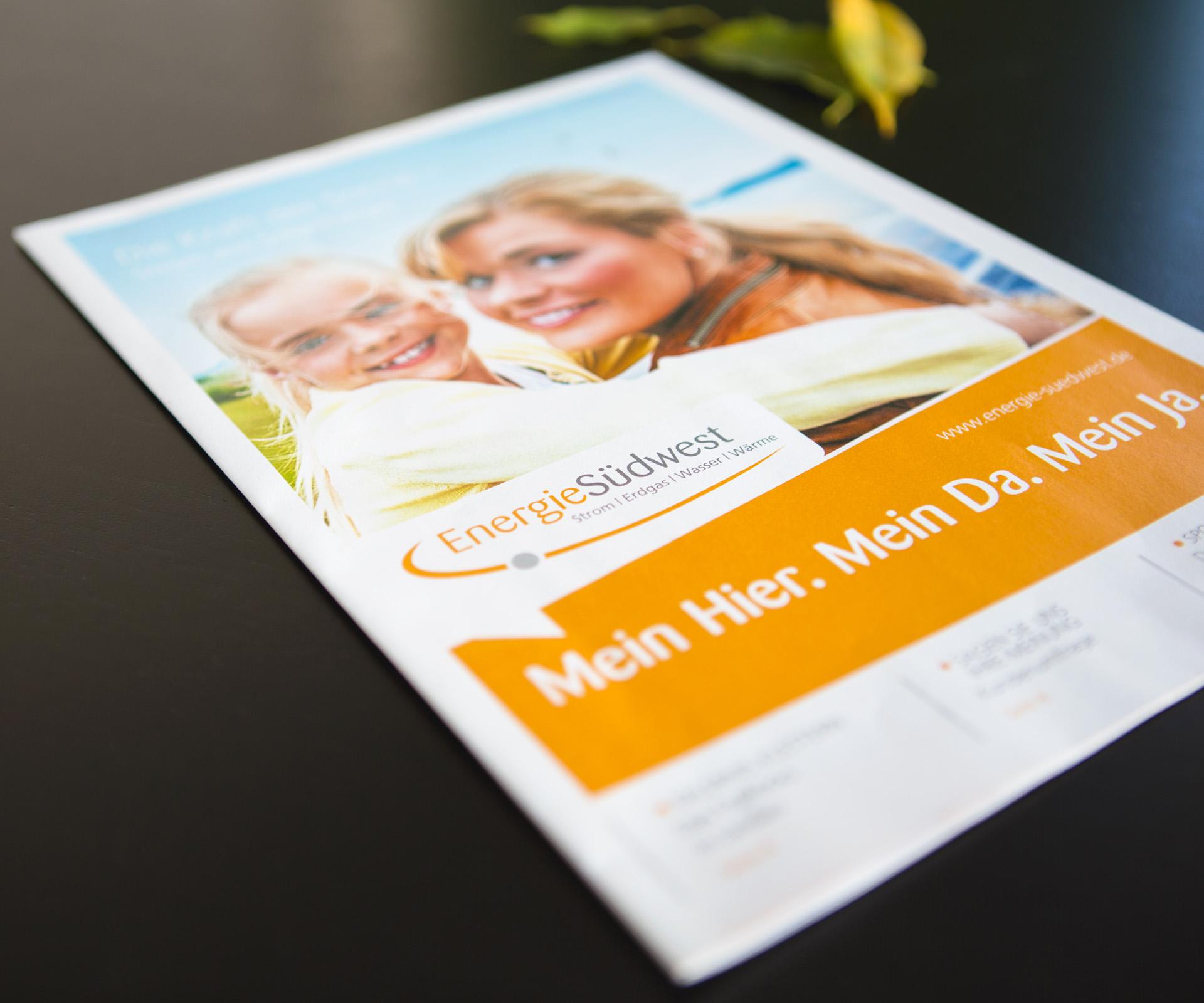 Sabath Media Werbeagentur - EnergieSüdwest - Referenzbild 1