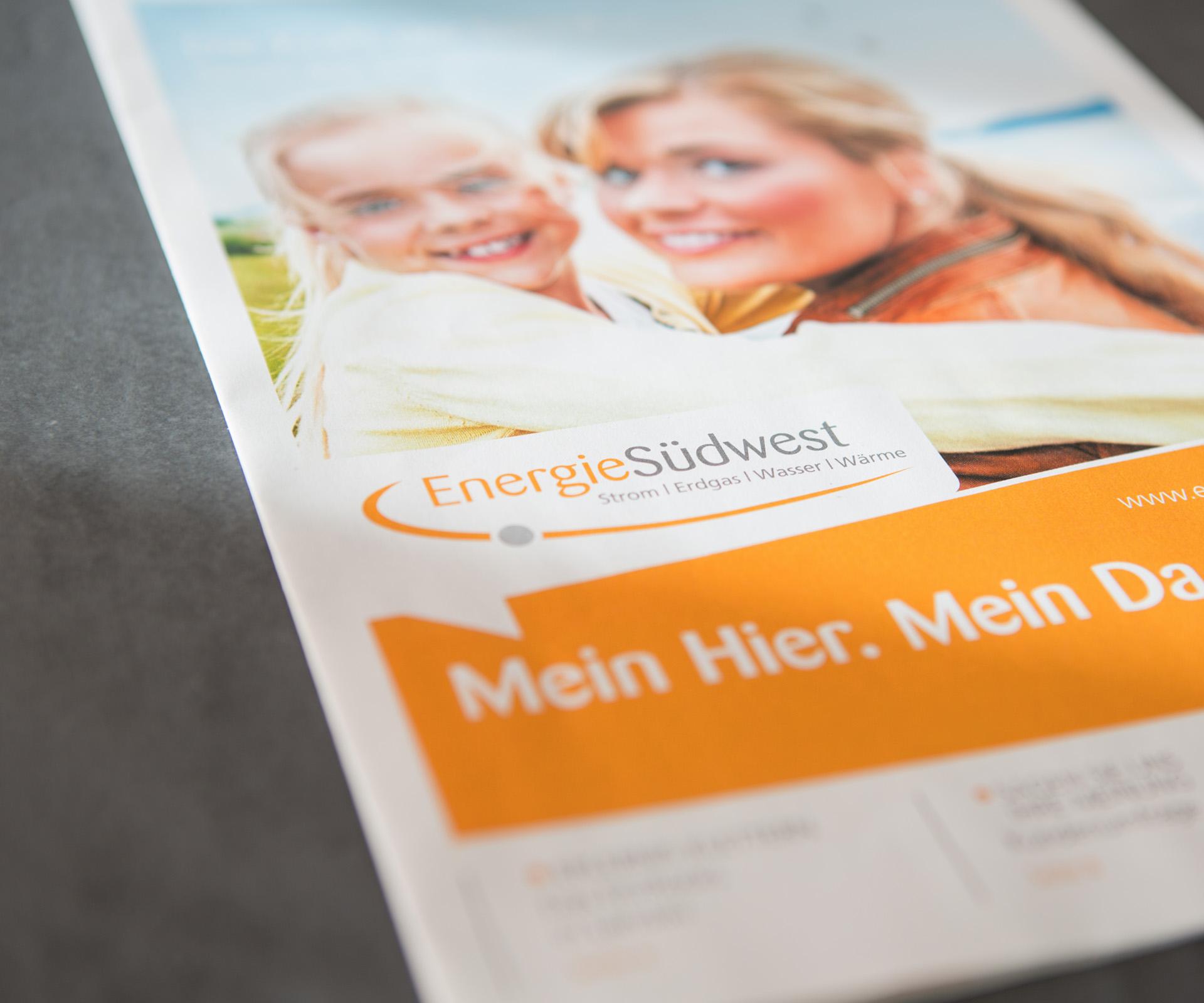 Sabath Media Werbeagentur - EnergieSüdwest - Referenzbild 2