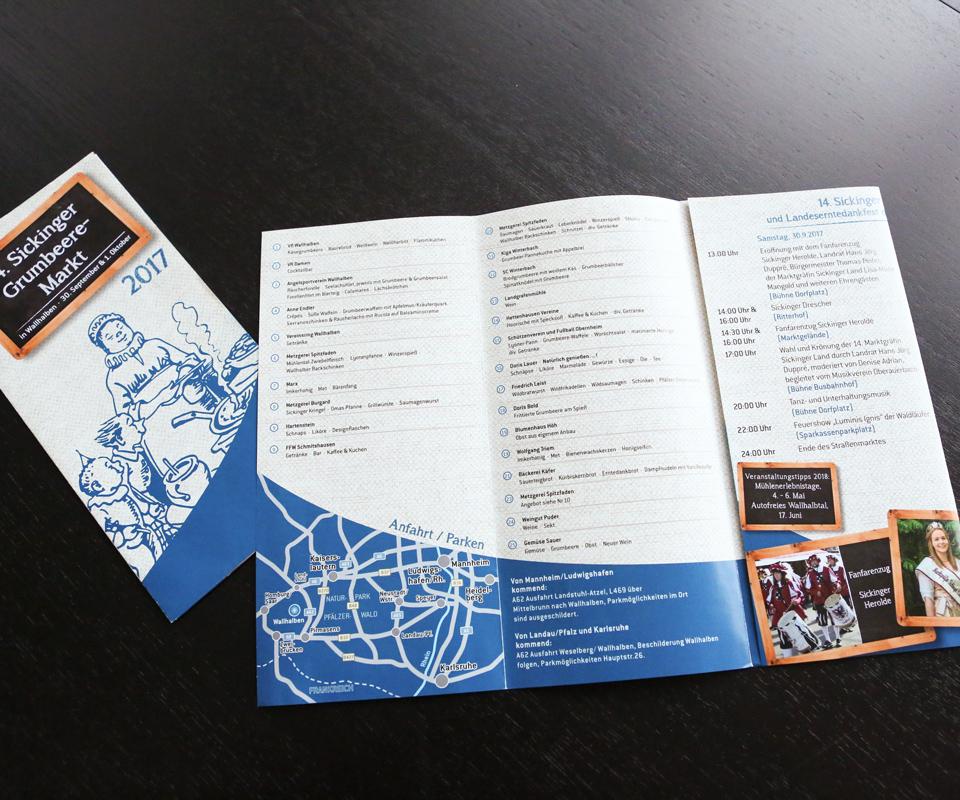 Sabath Media Werbeagentur - Tourist Information Pfälzer Mühlenland - Referenzbild 2