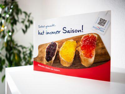 """Sabath Media - Projekt Vorschaubild - Südzucker – Broschüre """"Selbst gemacht… hat immer Saison!"""""""