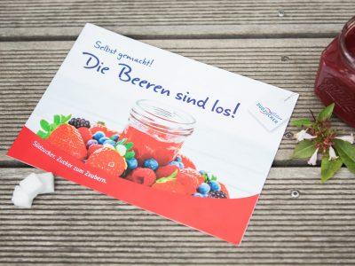 """Sabath Media - Projekt Vorschaubild - Südzucker – Broschüre """"Die Beeren sind los"""""""
