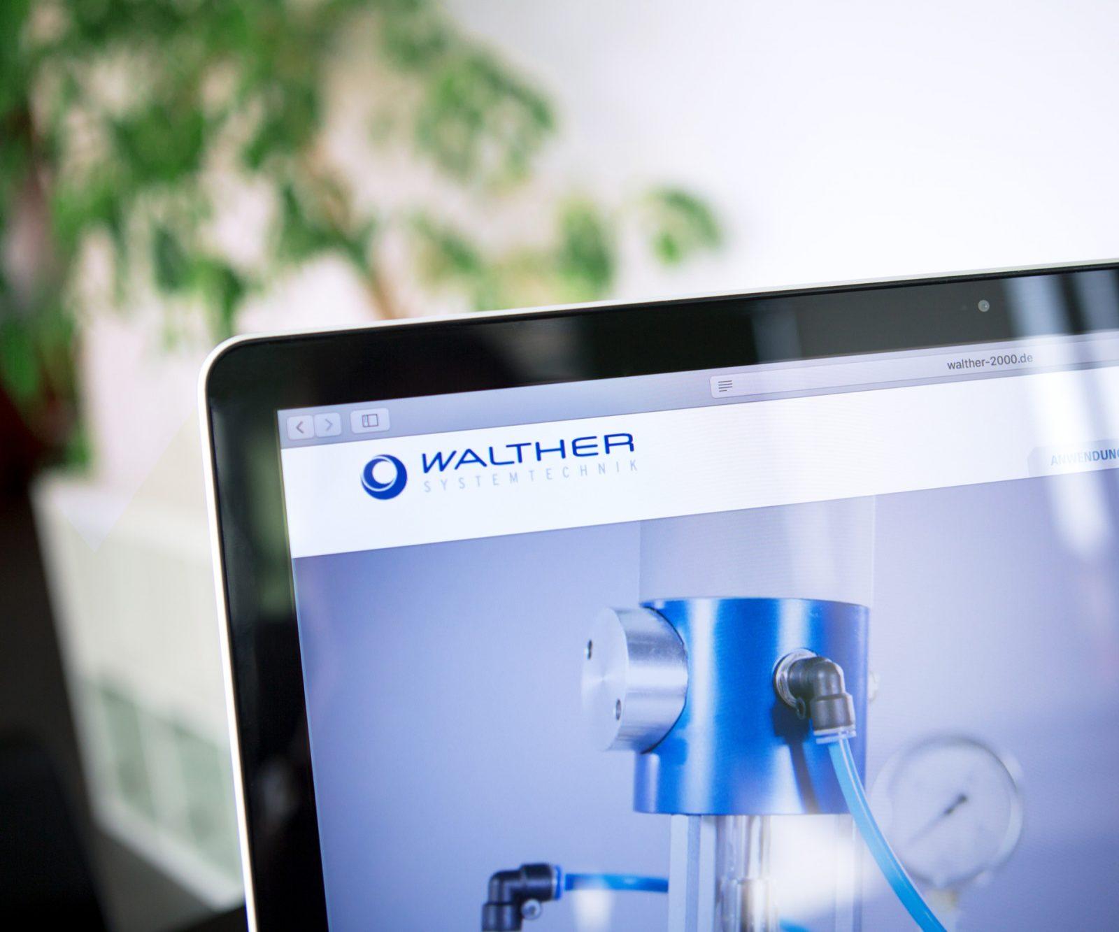 Sabath Media Werbeagentur - Walther Systemtechnik – Website & Broschüre - Referenzbild 4