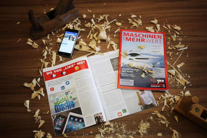 Sabath Media Werbeagentur - Maschinen-Grupp - Referenzbild 1
