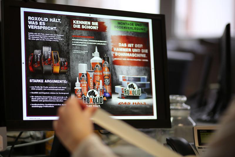 Sabath Media Werbeagentur - Hornbach Roxolid - Referenzbild 1