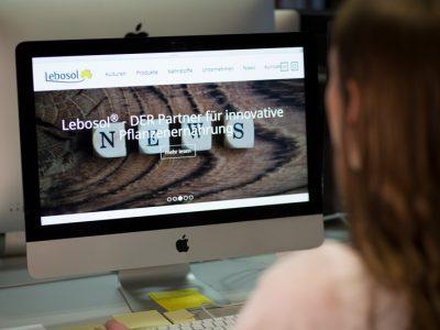 Sabath Media - Projekt Vorschaubild - Lebosol – Website