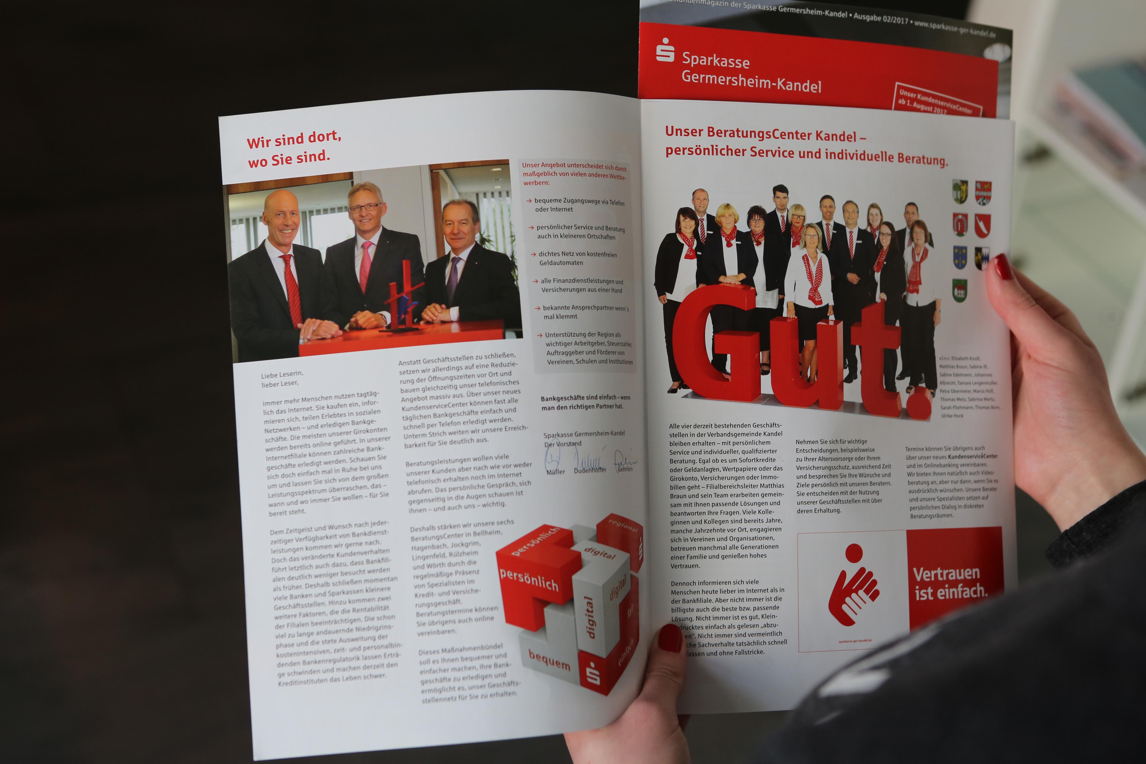 Sabath Media Werbeagentur - Sparkasse Germersheim-Kandel – Fotoshooting - Referenzbild 2