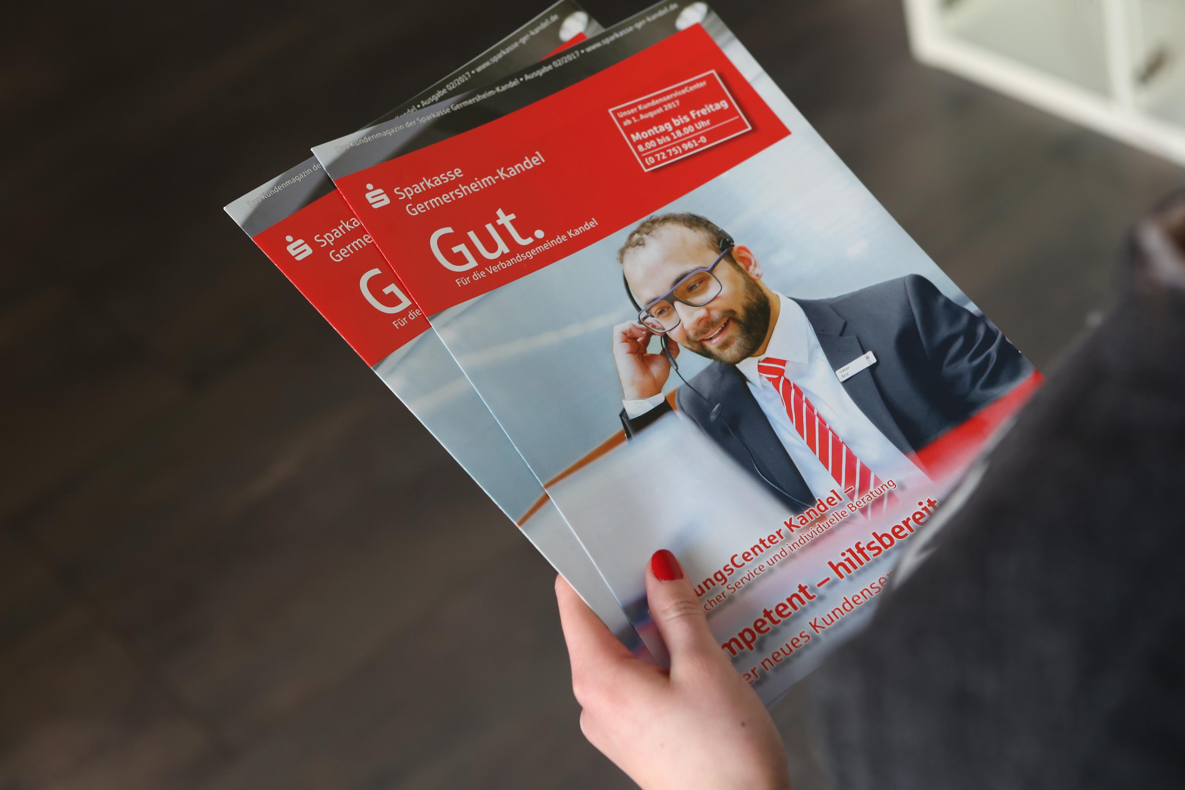 Sabath Media Werbeagentur - Sparkasse Germersheim-Kandel – Fotoshooting - Referenzbild 1