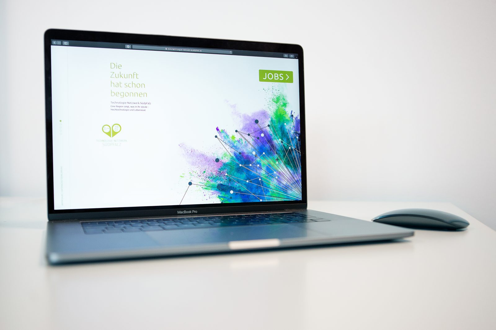 Sabath Media Werbeagentur - Technologie-Netzwerk Südpfalz e.V. – Branding - Referenzbild 1