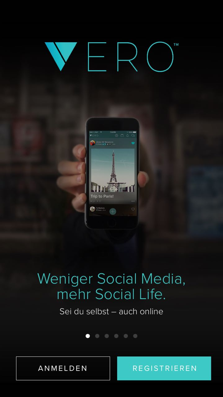 "Sabath Media Blog - App-Check: Was kann ""Vero""? - Bild 1"