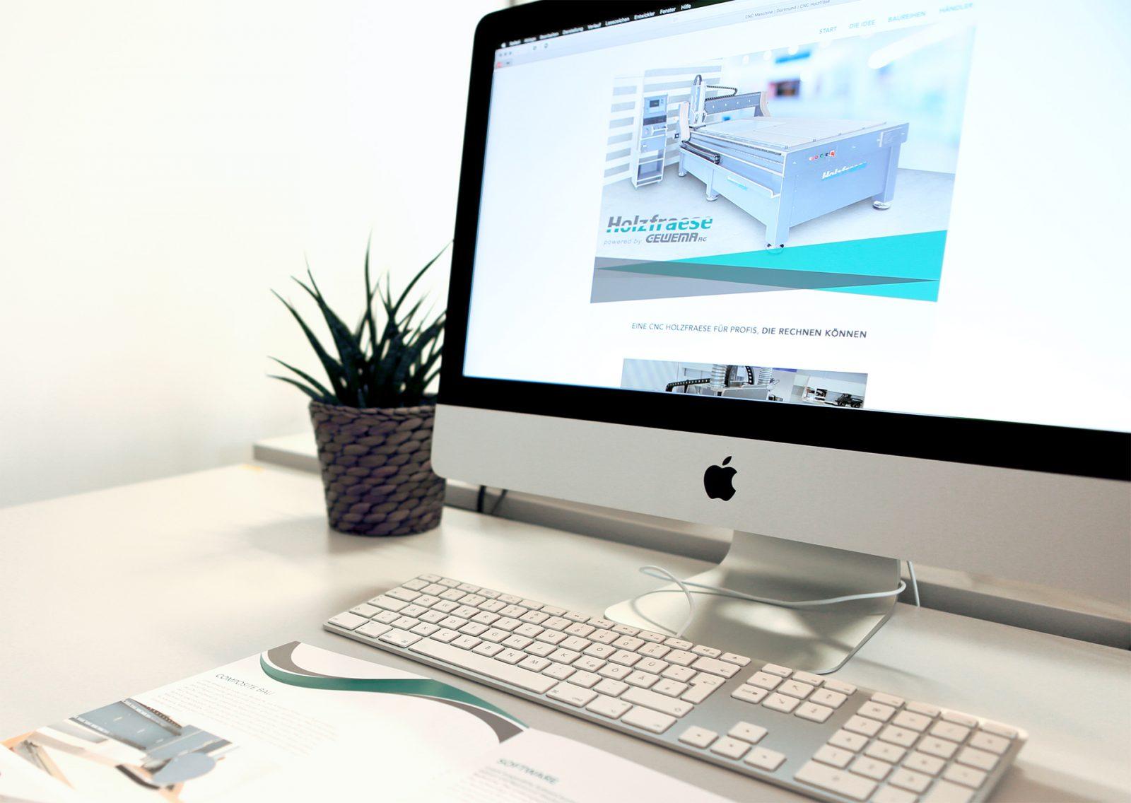Sabath Media Werbeagentur - Gewema – Broschüre, Landingpage & Video - Referenzbild 1