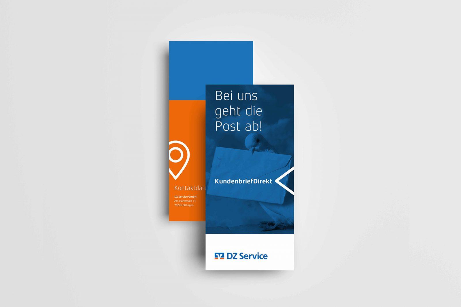 Sabath Media Werbeagentur - DZ Service – Flyer - Referenzbild 2