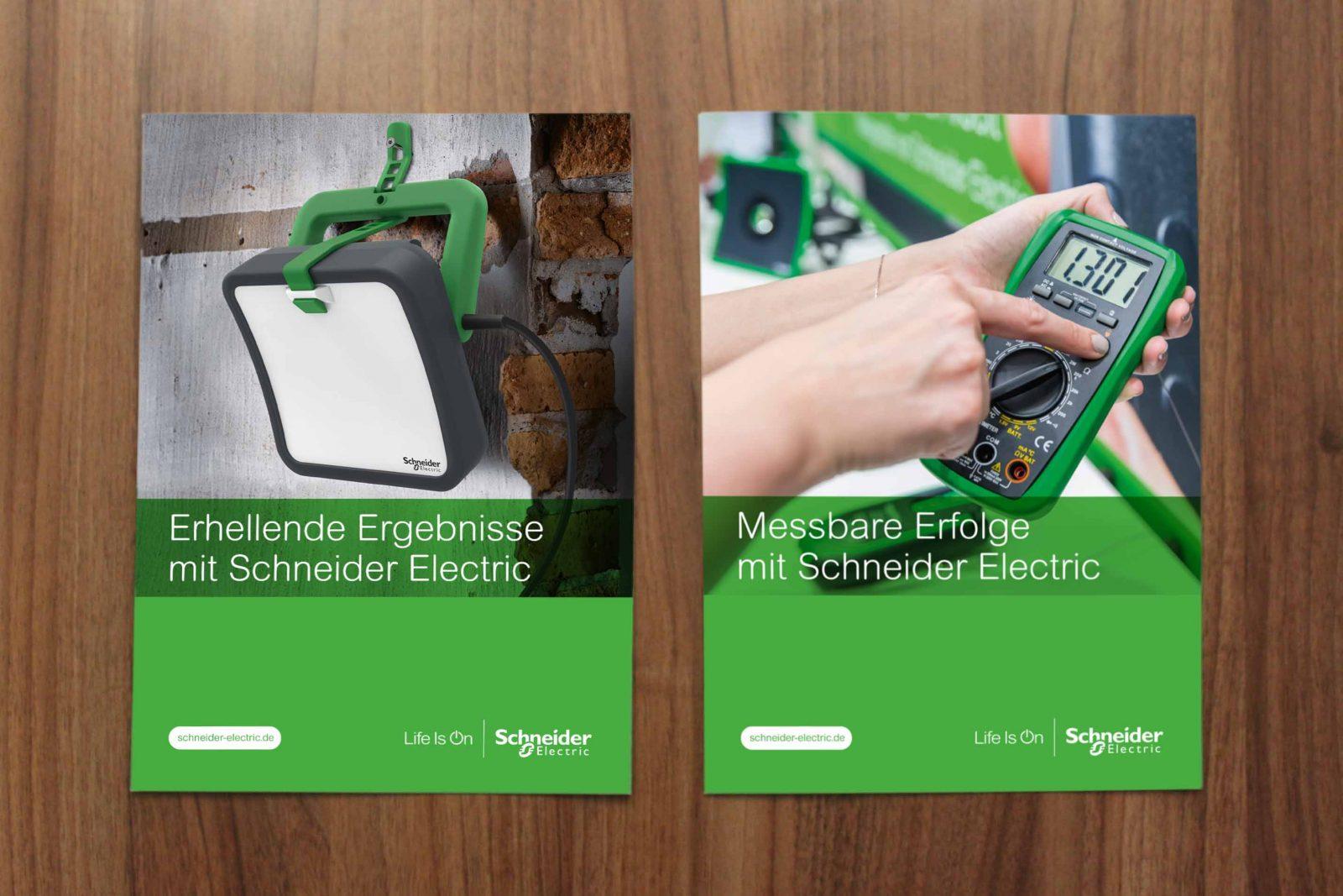 Sabath Media Werbeagentur - Schneider Electric – Salesfolder - Referenzbild 2