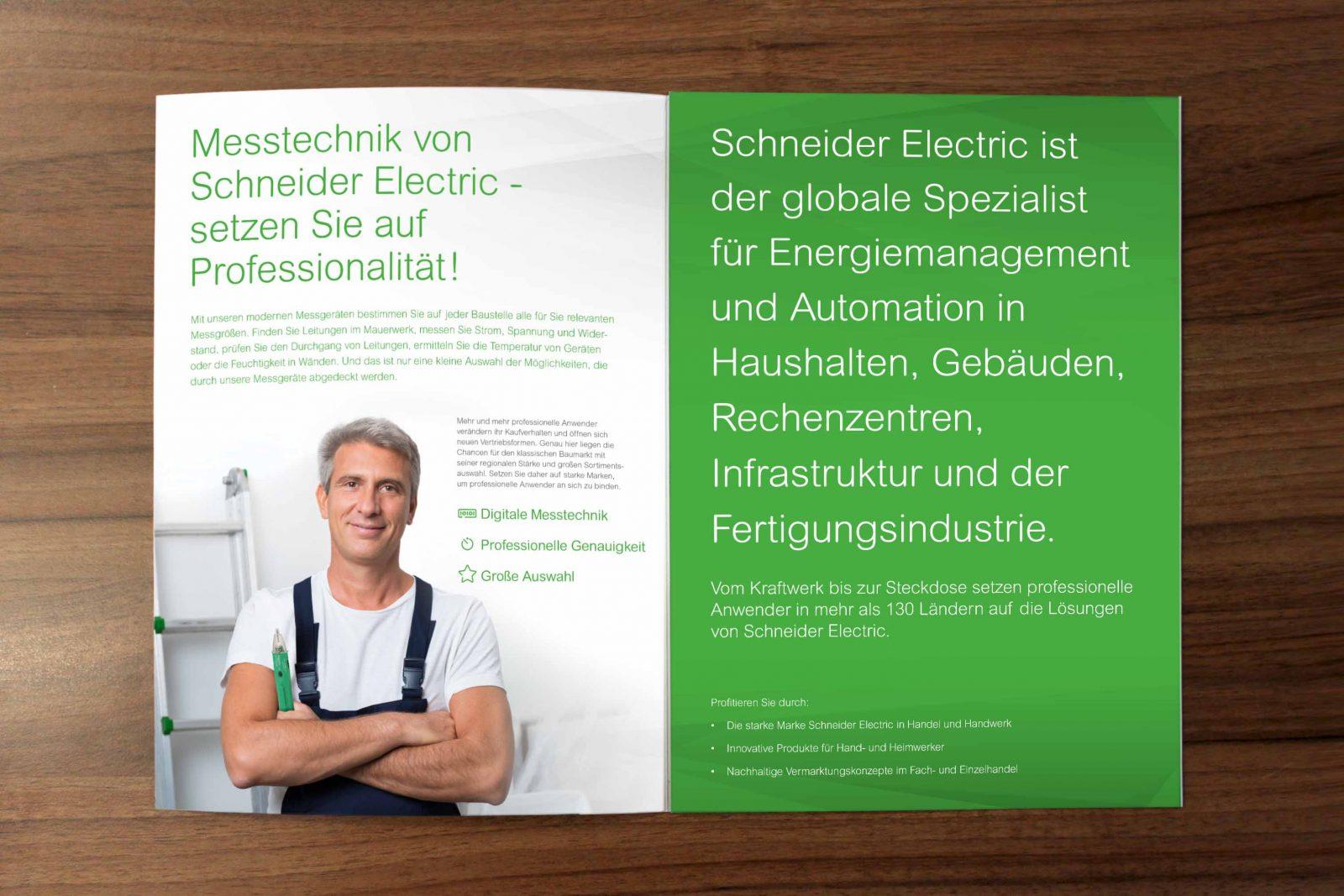 Sabath Media Werbeagentur - Schneider Electric – Salesfolder - Referenzbild 3
