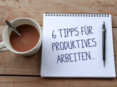 Sabath Media - 6 Tipps für produktiveres Arbeiten