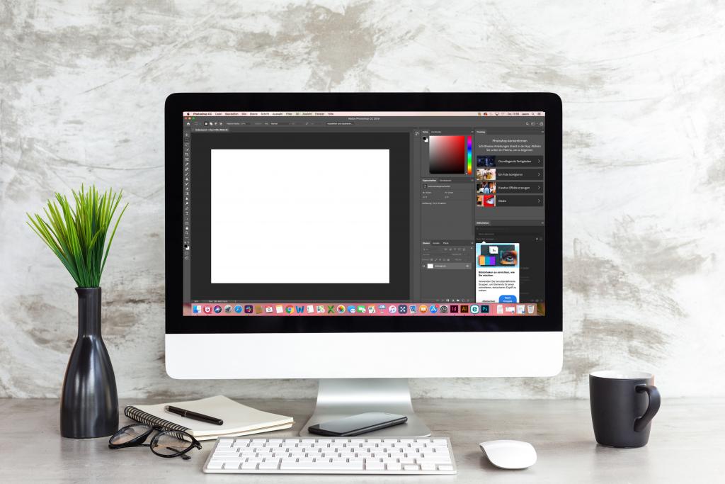 Pro(o)fies am Werk – unser Bildbearbeitungsbüro