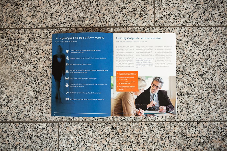 Sabath Media Werbeagentur - DZ Service – Broschüre - Referenzbild 3